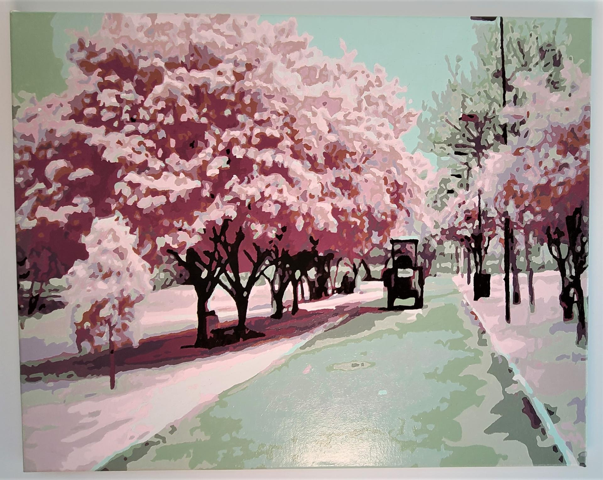 작품명 - 벚꽃길