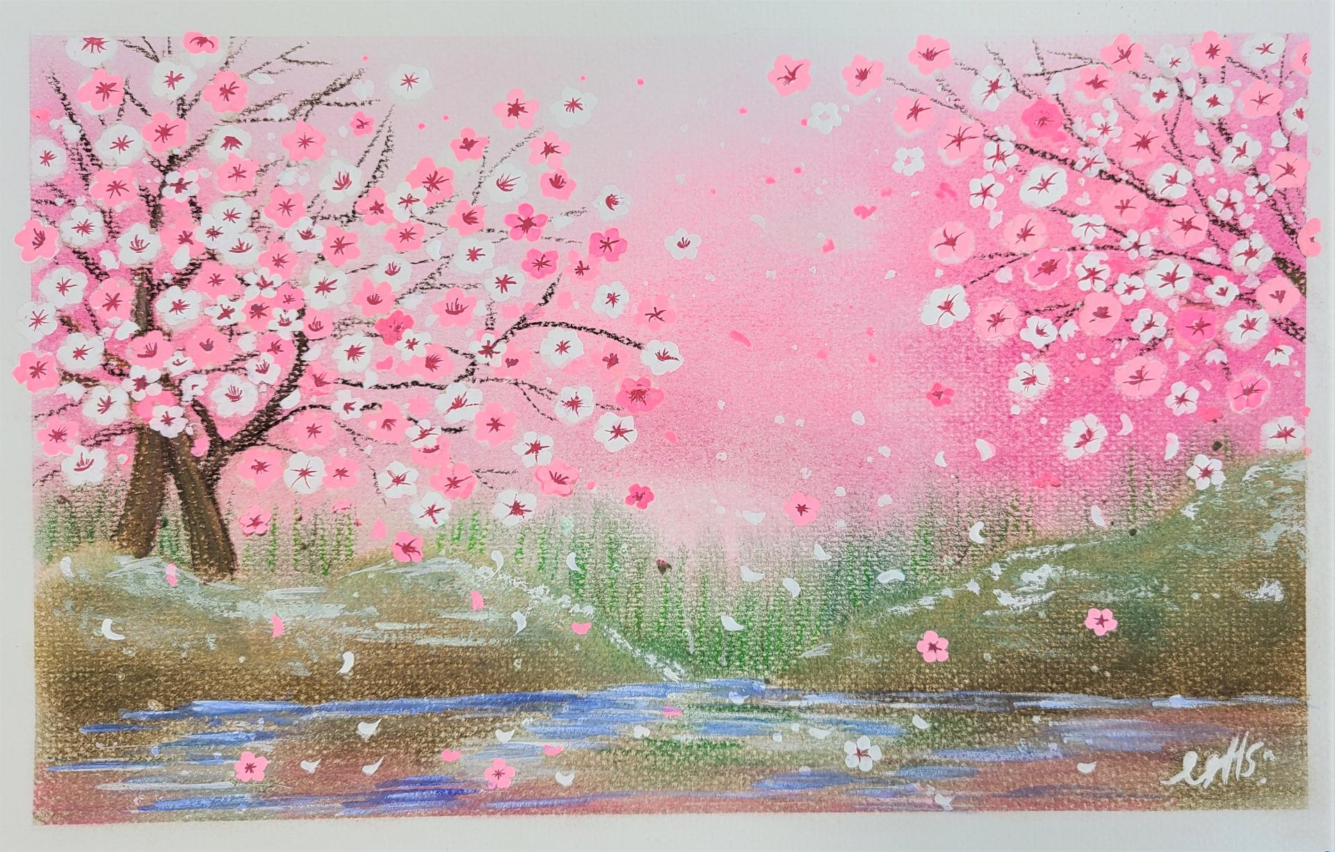 작품명 - 꽃피는 봄이 오면