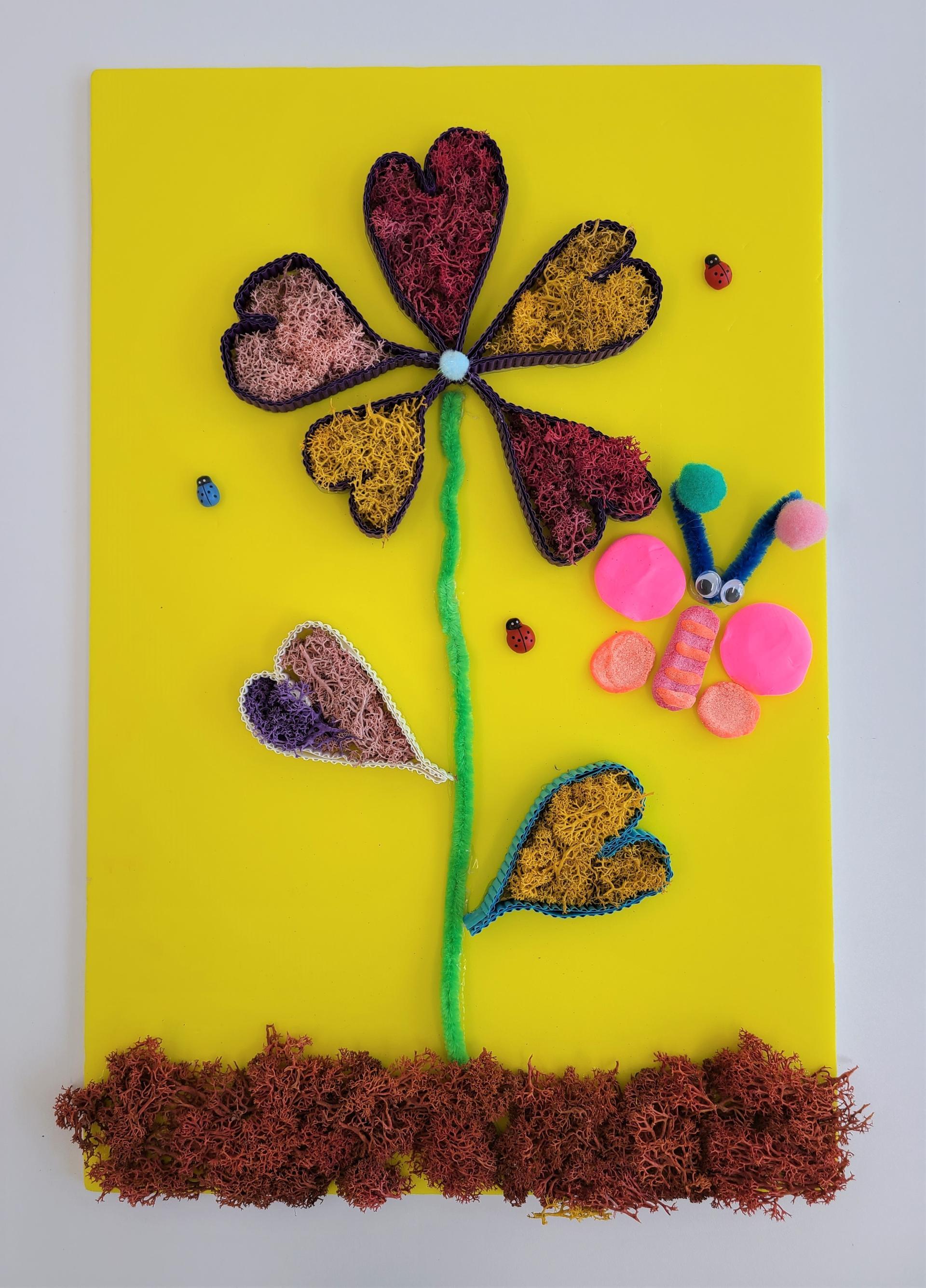작품명 - 꽃과나비